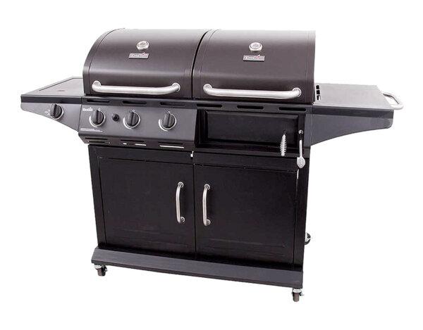 Комбинирано барбекю - газово/дървени въглища