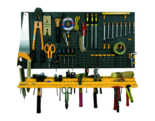 PVC стена за инструменти - 54 части