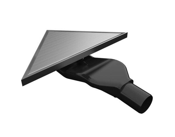 Триъгълен сифон за вграждане - 215 х 215 х 304 mm, различни модели
