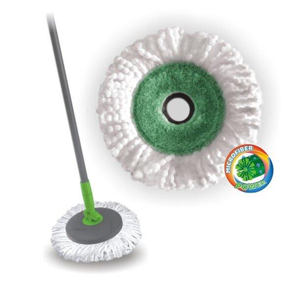 Резервна глава за Rotary Mop - кръгла, микрофибърна