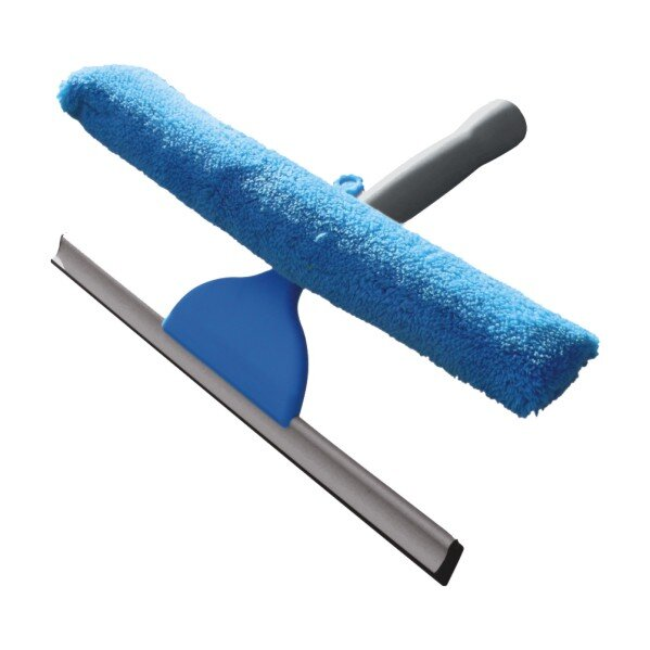 Стъклочистачка с микрофибърна кърпа