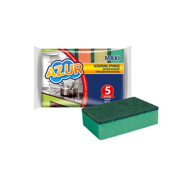 Гъби за миене на съдове Maxi - 5 бр.