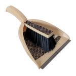 Лопатка с гумен ръб и четка Style - различни цветове