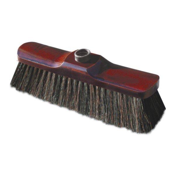 Дървена четка Lux - с естествен косъм