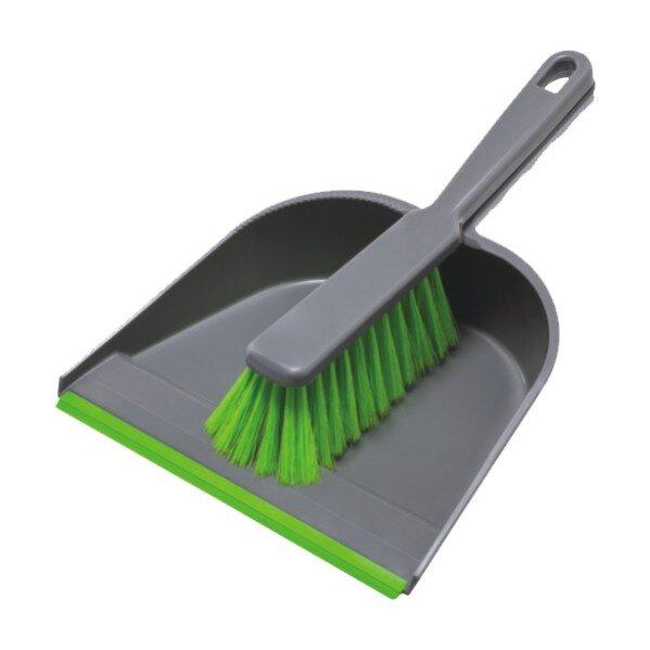 Четка и лопатка с гумен ръб