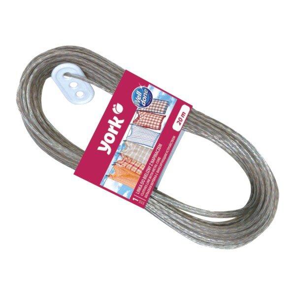 Въже за простор с метални нишки и обтегач - 20 m