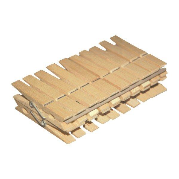 Дървени щипки за дрехи - 20 бр.
