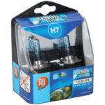 Ксенонови крушки - 12 V/H7, 2 бр., различна светлина