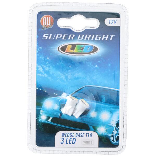 LED светлини за автомобил - 12 V, Wedge