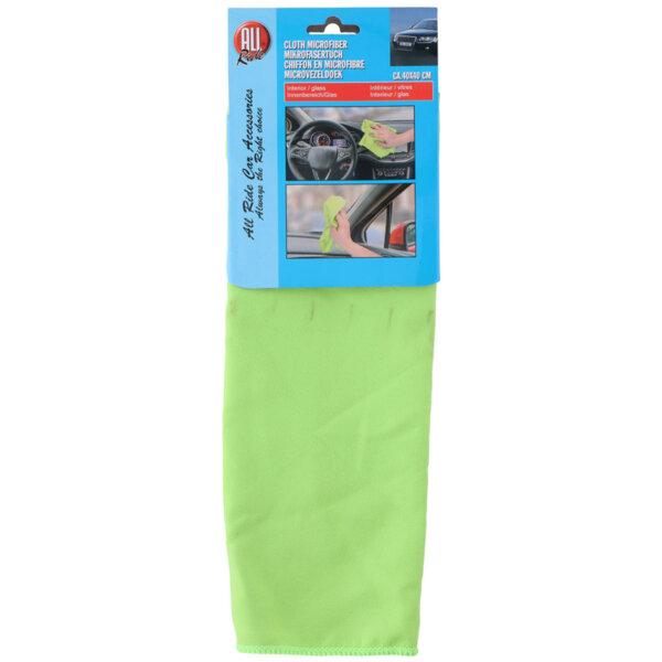 Микрофибърна кърпа - 40 x 40 cm, различни цветове