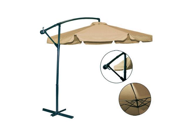 Градински чадър със стойка - 2.95 m