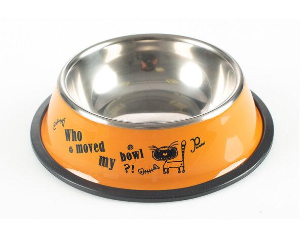 Купа за кучета/котки - инокс, с разветки S