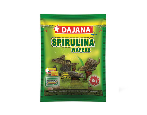 Храна за рибки Spirulina Wafers - 25 g