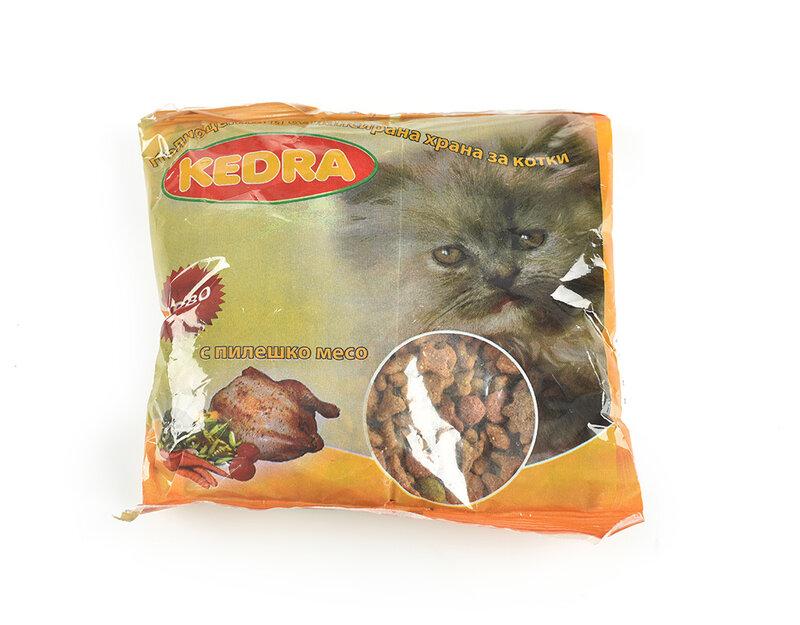 Храна за котки, пиле - в пакет, 0.190 kg, различни вкусове