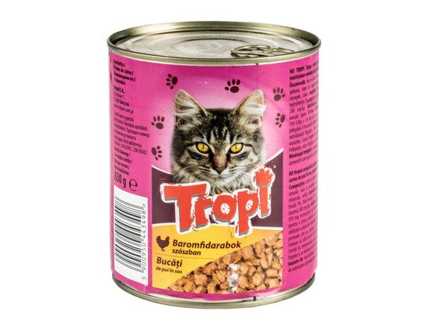 Храна за котки - пиле, 0.830 kg