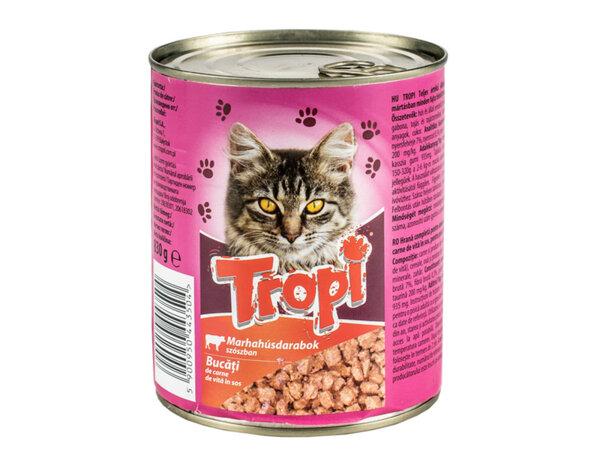 Храна за котки - говеждо, 0.830 kg
