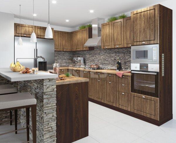 Кухня City 897 - с термоплот