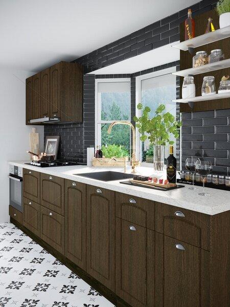 Кухня City 890 - с термоплот
