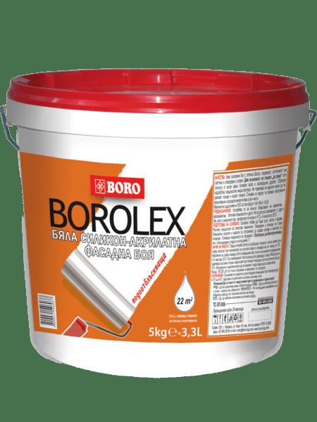 Акрилатна фасадна боя, силикон - водоотблъскваща, 23 kg