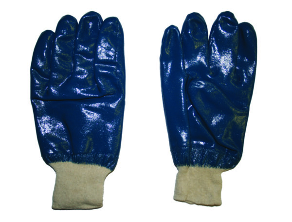 Ръкавици нитрилна промазка / ластичен маншет TS-NBR002