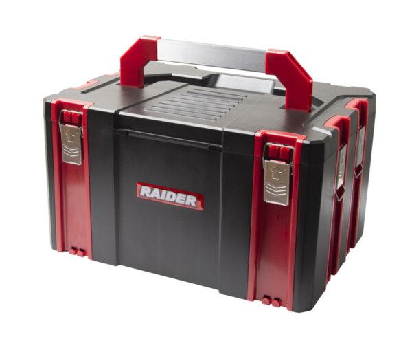 Пластмасов куфар за инструменти 44х32х25.5см RD