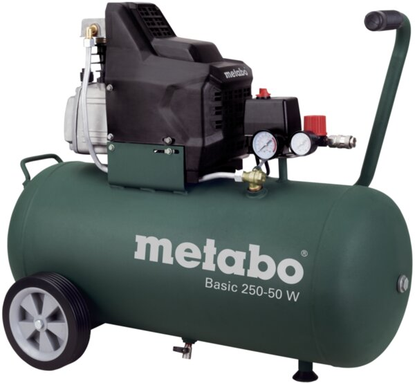 Компресор 50 л 1.5kW METABO BASIC 250-50 W
