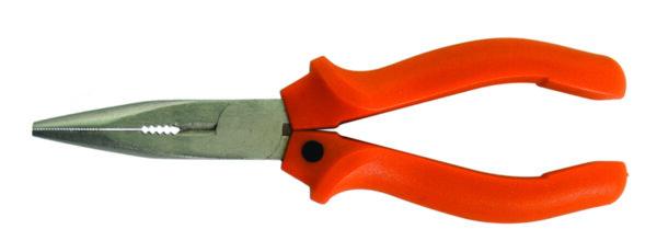 Клещи дългоусти с пластмасова дръжка 150мм GD