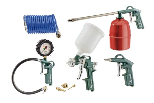 Инструменти пневматични Metabo LPZ 7 Set - комплект