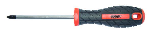 Отвертка кръстата PH0 - двукомпонентна дръжка, 3 x 100 mm