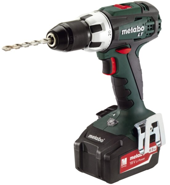 Бормашина Metabo BS 18 LT - 18 V, 60 Nm, 2 x 4 Ah, акумулаторна