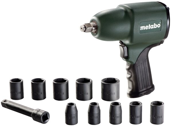 """Пневматичен гайковерт Metabo DSSW 360 Set - 1/2"""", 360 Nm"""
