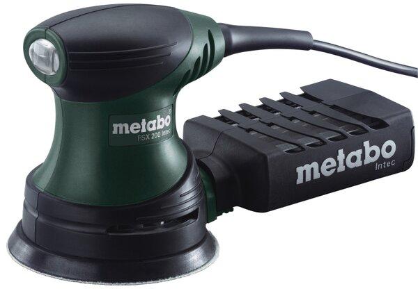 Ексцентършлайф Metabo FSX 200 Intec - 240 W, 125 mm