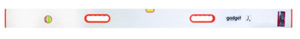 Мастар с либели и ръкохватки - 2500 mm, алуминиев