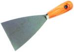 """Шпакла - дървена дръжка, 4"""" /100 mm"""