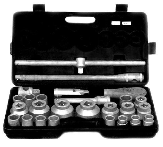 """Гедоре GD - 26 части, 3/4"""" и 1"""", 21-65 mm"""