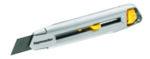 Нож макетен - 18 mm, метален трето поколение