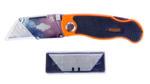 Нож макетен - сгъваем с 10 резерви