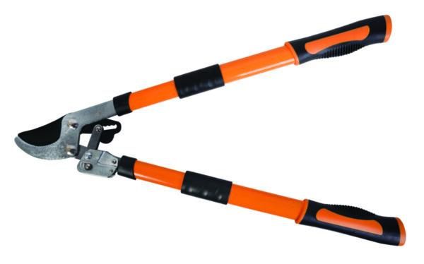 Ножица за клони - телескопична с усилващ механизъм, 650 - 910 mm