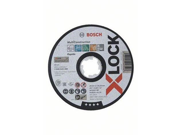 X-LOCK Диск за рязане Multi Material 125x1x22.23