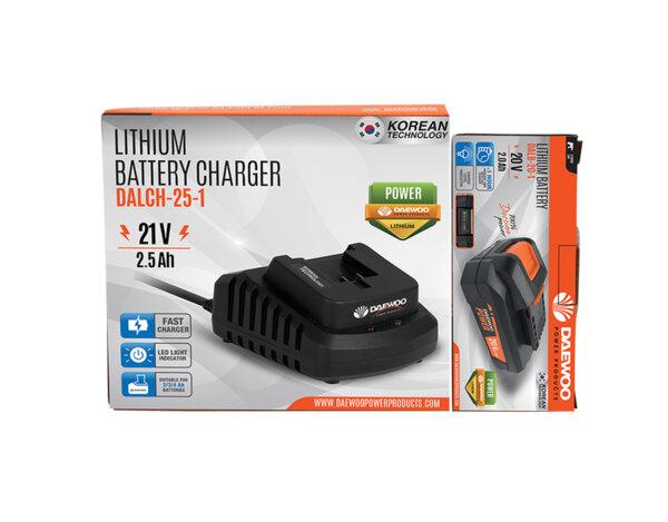 """Комплект зарядо """"Uni-Bat"""" 21 V, 2.5 Ah и батерия """"Uni-Bat"""" 20 V, 2.0 Ah"""