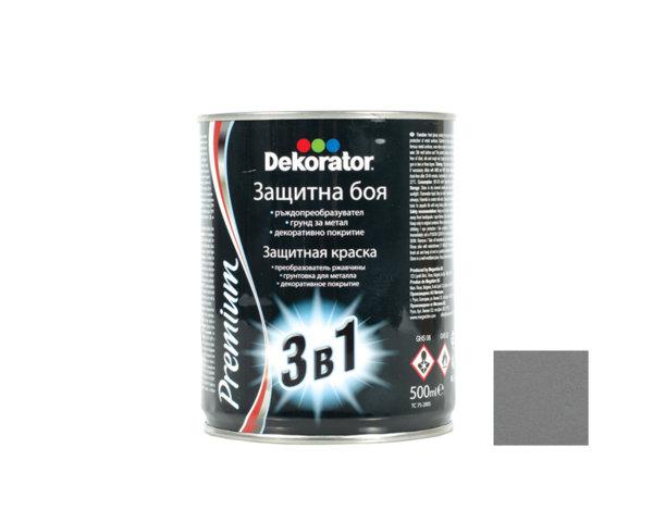 Алкидна боя 3 в 1 Dekorator - 2.5 l, различни цветове
