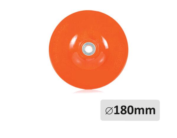 Шайба за шкурка - ø180mm x ø22mm