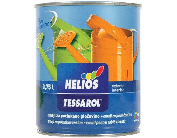 Боя за поцинковани повърхности Tessarol - 750 ml, различни цветове
