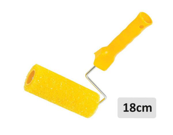Структурен едър валяк с дръжка - 18cm