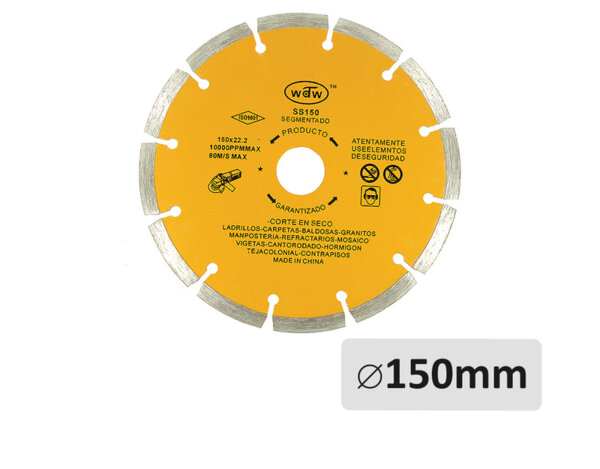 Диамантен диск за бетон - ø150mm x ø22.2mm