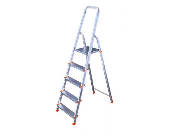Алуминиева домакинска стълба 4+1