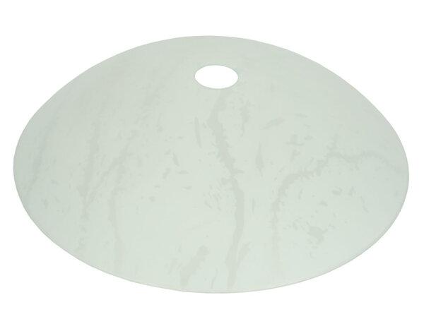 Пенделно бяло стъкло ø40cm