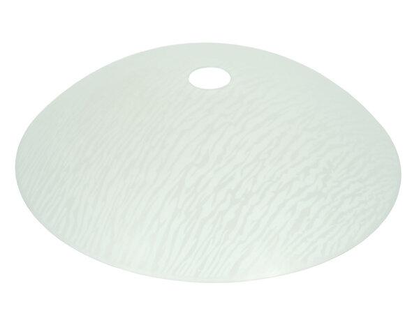 Пенделно бяло стъкло Гизгили ø40cm