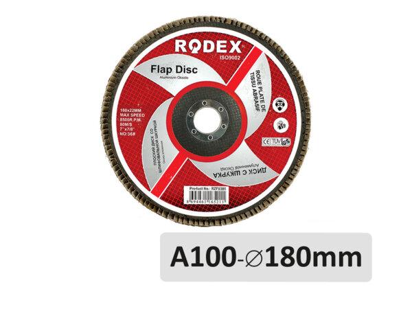 Ламелен диск A100 - ø180mm x ø22mm