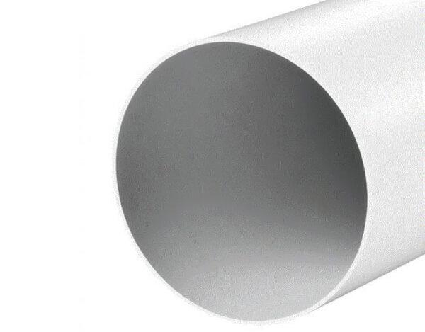 Пластмасов въздухопровод - ø125мм x 0.5m